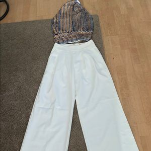 Pants - Gorgeous set with pant pants and paw topper